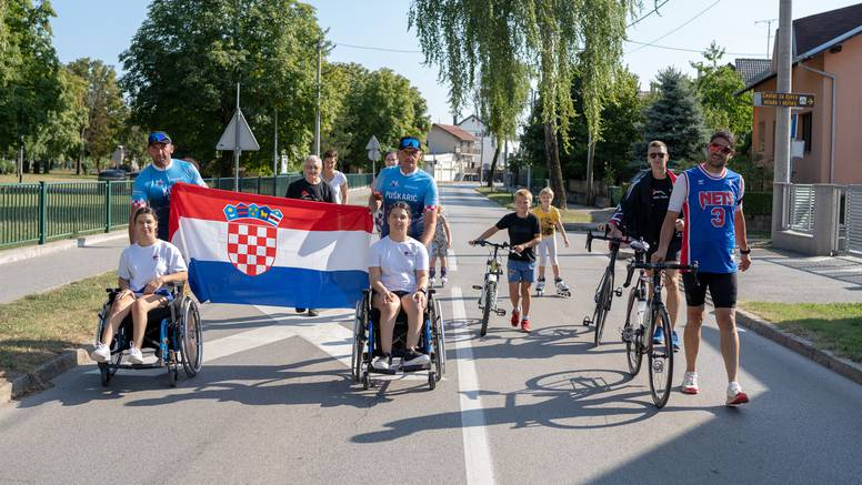 Od Zagreba do juga Hrvatske: Za djecu s teškoćama biciklirali i trčali više od 800 kilometara