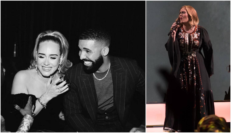 Mršavija Adele: Izgubila pet kg i uvukla se u usku crnu haljinu