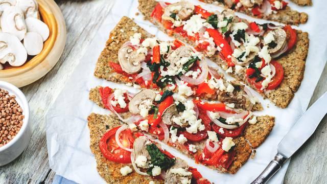 Pizza od heljde je način kako zamijeniti kalorije vitaminima