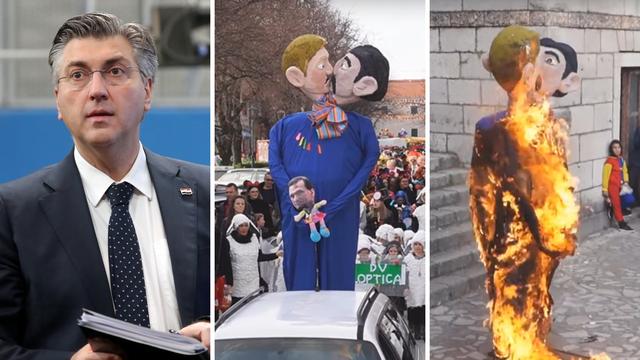 Vlada osudila spaljivanje lutaka gay para: 'Nije karnevalski duh'