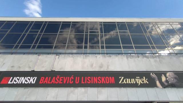 Na Lisinskom dirljiva poruka za Đorđa Balaševića: 'Zauvijek...'