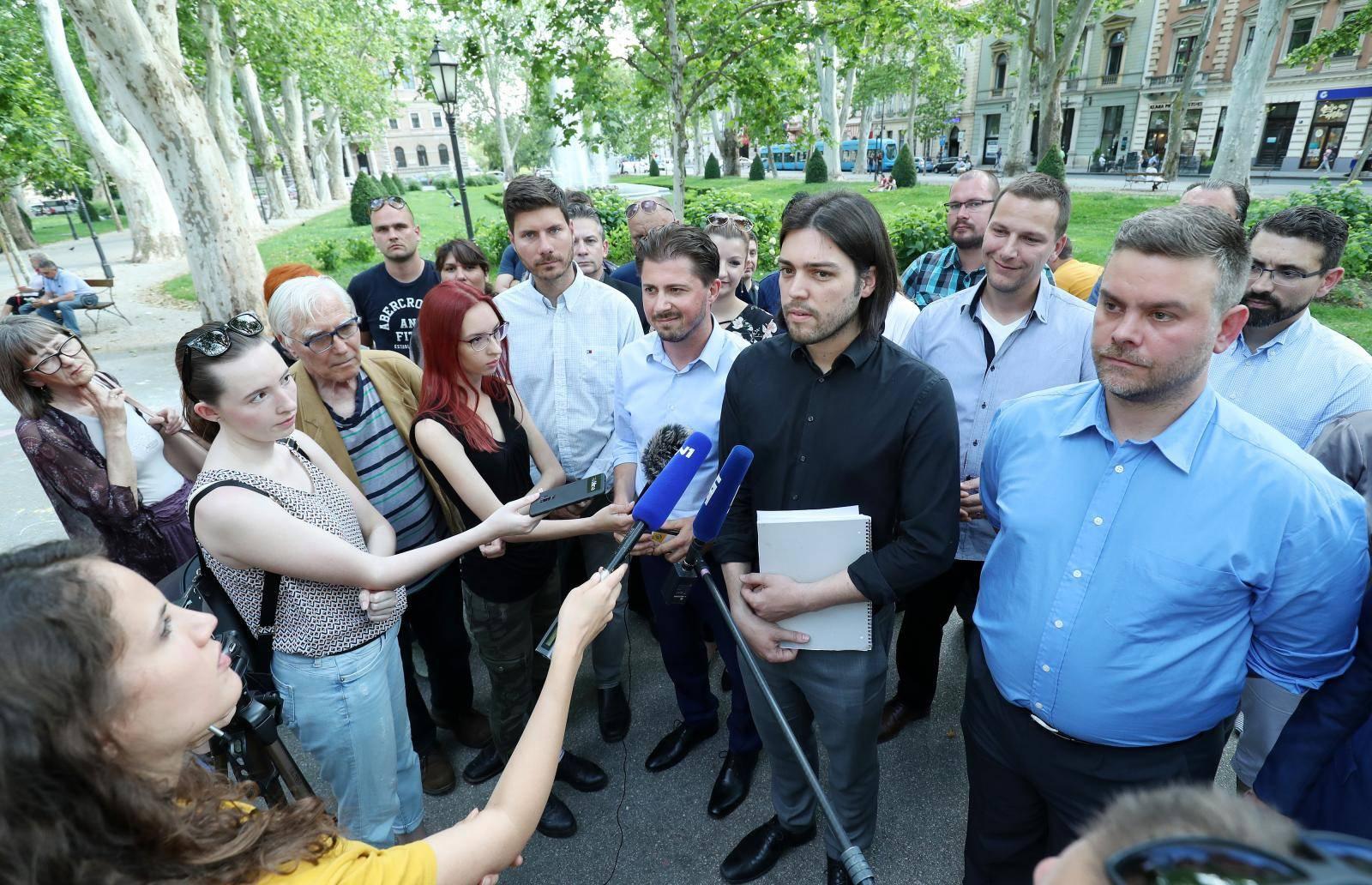 Zagreb: Živi zid održao konferenciju o mandatima u EU Parlamentu
