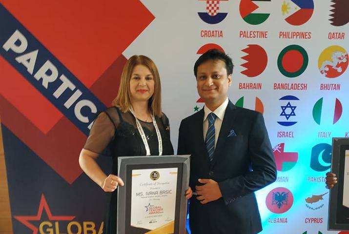 Global Teacher Award prvi put dodijelili učiteljici iz Hrvatske