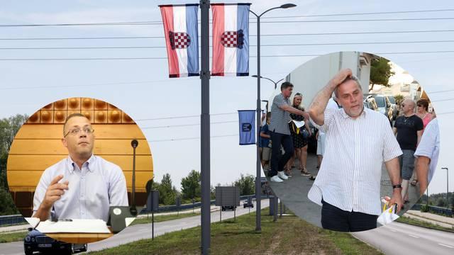 Mikijev skandal: Zastava bivše države pa na njoj hrvatski grb