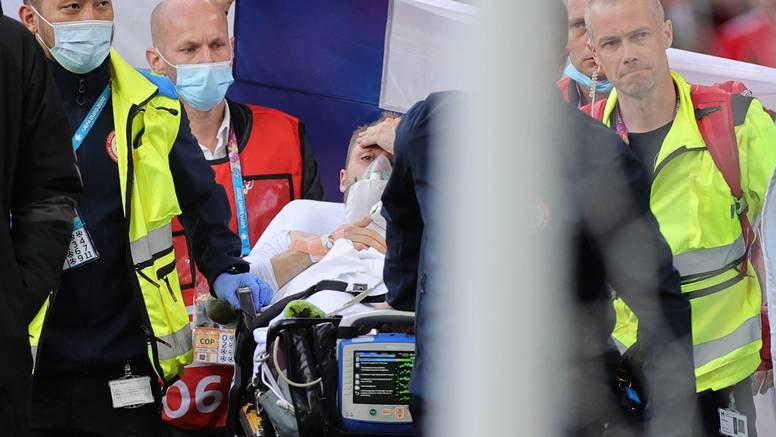 Strava u Kopenhagenu: Eriksen se srušio, liječnici ga oživljavali, probudio se dok su ga odnosili