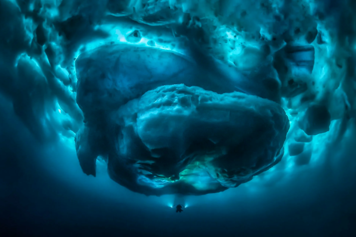 Zaranja pod goleme ledenjake i otkriva podvodni svijet divova