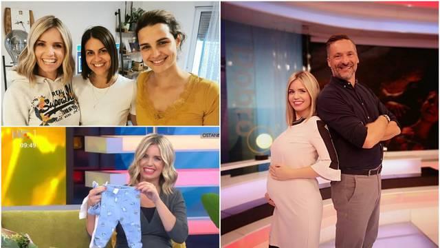 Voditeljica emisije 'Dobro jutro, Hrvatska' u iščekivanju prinove: 'Sin Luka će biti brižan brat'