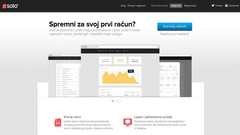 Mali poduzetnici dobili su web servis Solo za račune po  mjeri
