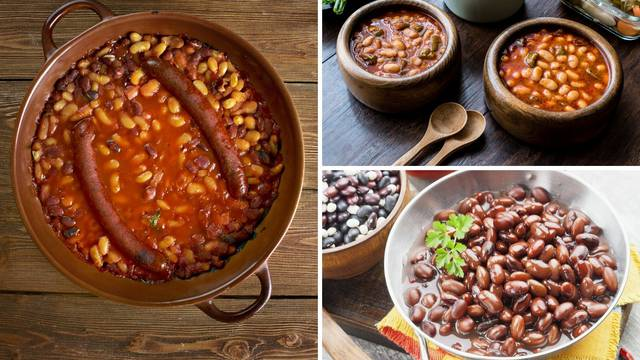 Temeljni recept za grah varivo, na salatu, tavče i s kobasicama