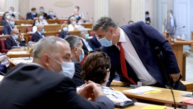 Zagreb: Andrej Plenković podnio Saboru izvješče o rezultatima hrvatskog presjedanja Vijećem EU