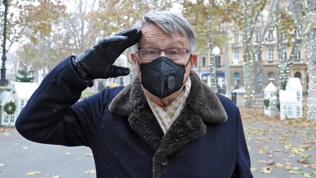 Ćiro savjetuje: Lakše je dočekati stotu ako ste zdravi i pokretni, zato - nosite maske i perite ruke