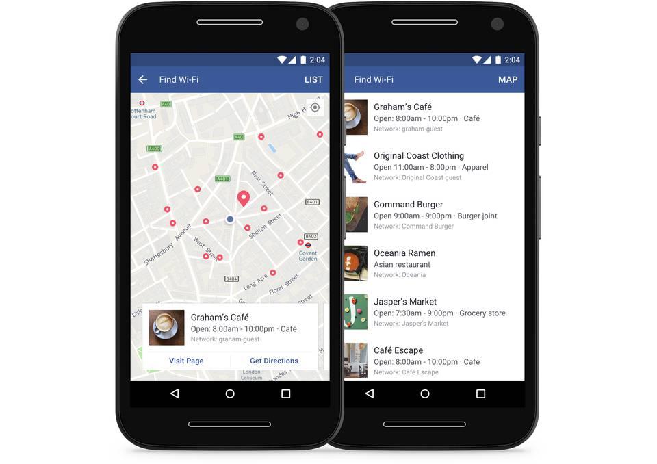 Facebook vam sada želi pomoći da pronađete besplatan Wi-Fi