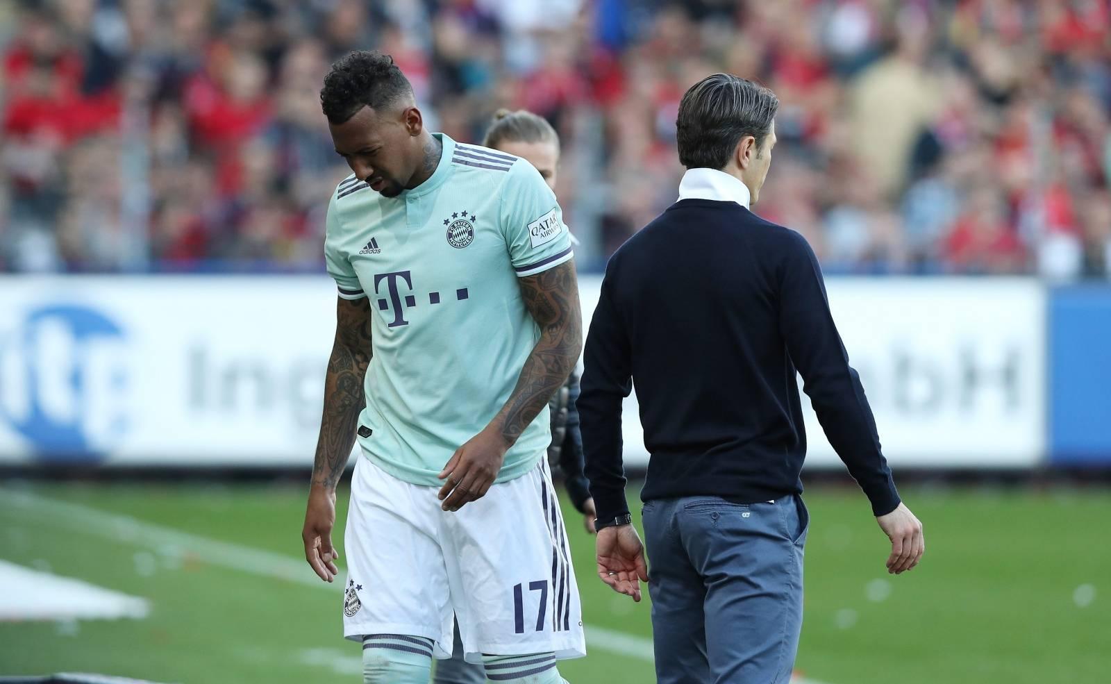 firo: 30.03.2019 Football, Football: 1. Bundesliga SC Freiburg - FC Bayern Munich Muenchen