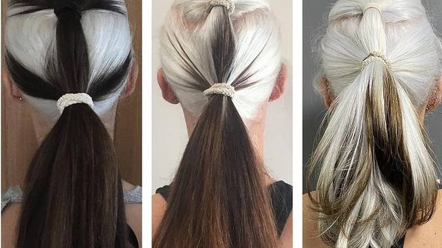 Prestala se farbati: Pustila je sijedu kosu i oduševila izgledom