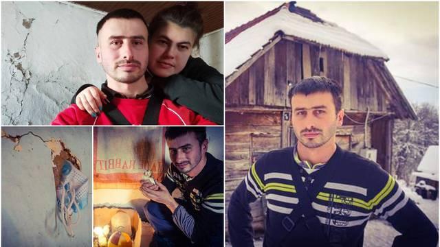 Dušan i žena sele u novu kuću: Drvena je šuplja i oštećena. Još ne spavamo, trzamo se na sve...
