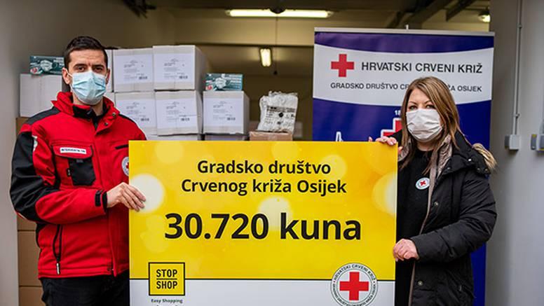 STOP SHOP ritejl parkovi u Osijeku i Valpovu donirali Crvenom križu