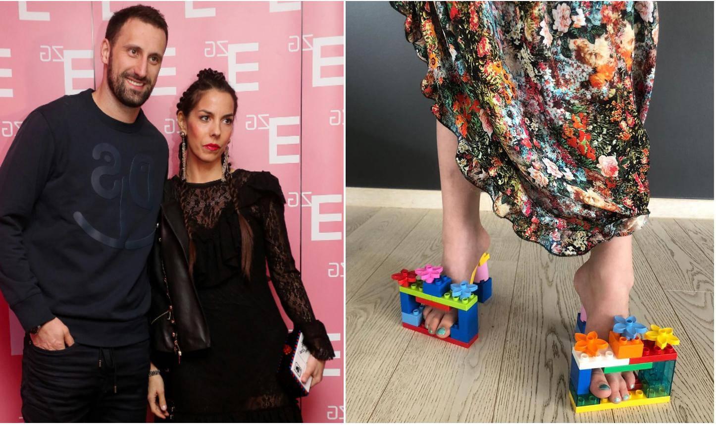 Olja Vori nosila štikle od Lego kocki: Izradio ih je njezin sin...