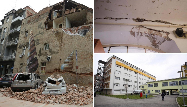 'Još smo u studentskom domu, a potres je bio prije pet mjeseci'