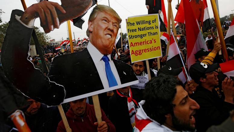 Masovni prosvjed Iračana: Od SAD-a traže da povuku vojsku