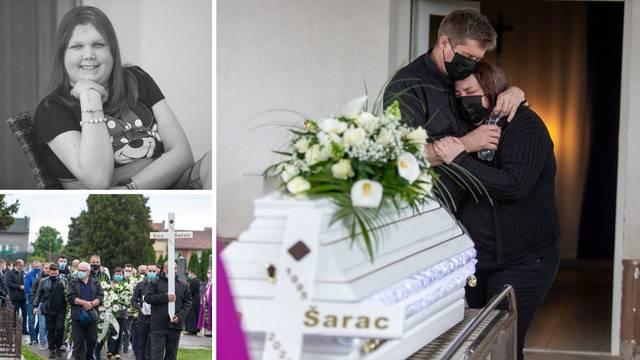 Velik broj prijatelja oprostio se od Ene Šarac: 'Njena ljubav je pobijedila jer je okupila mnoge'
