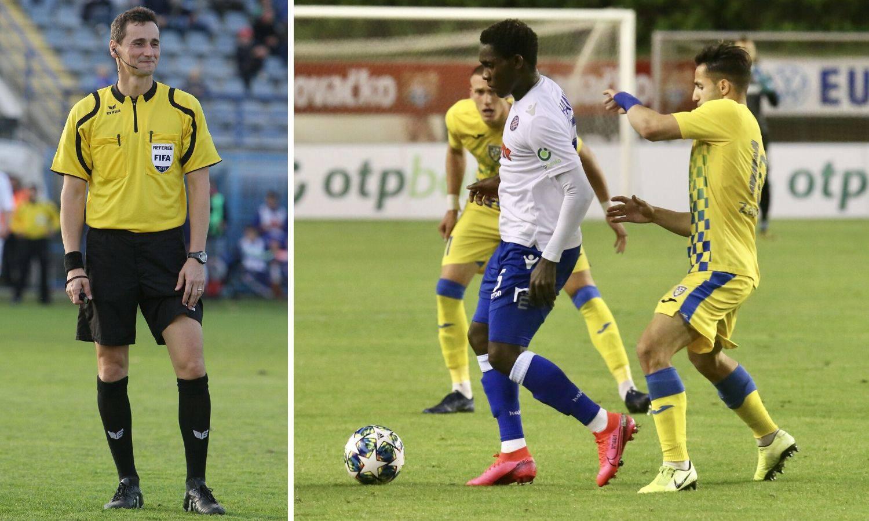Strahonja prelomio: Kod drugog gola Hajduka bio je faul, Hamza je već ranije trebao dobiti žuti