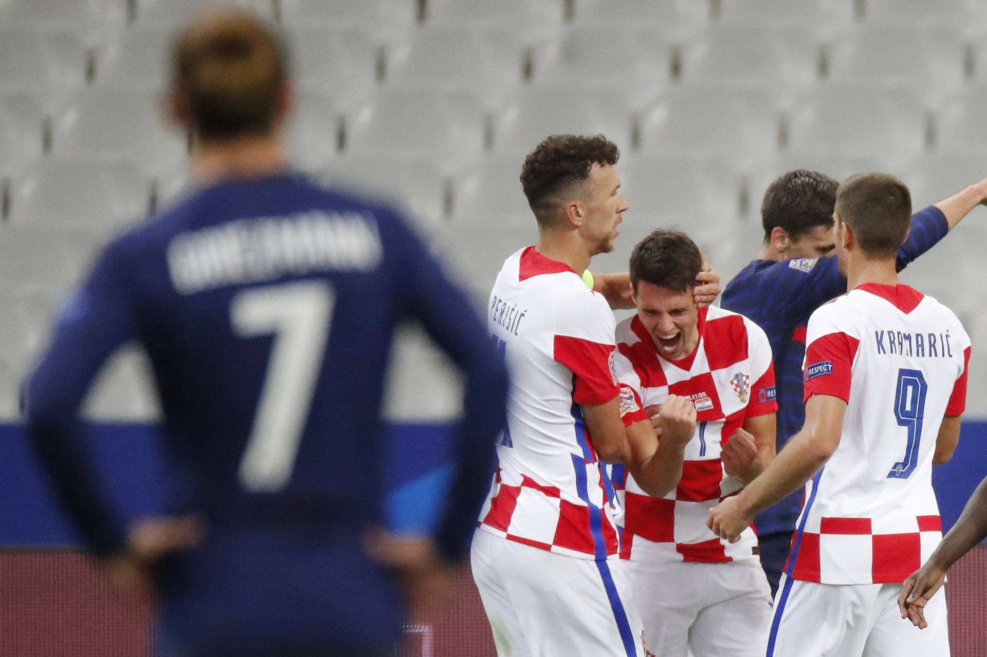 UEFA Nations League - League A - Group 3 - France v Croatia