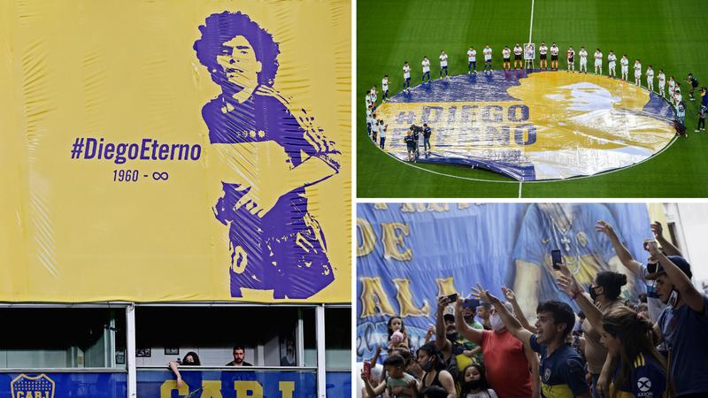 Gracias, Diego! Ti si vječan: Neviđen spektakl njemu u čast