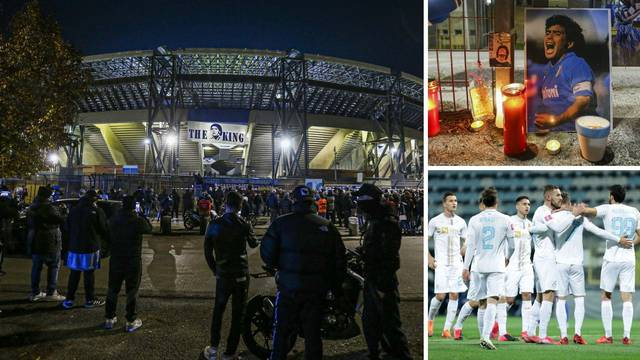 Rijeka je prva na stadionu koji se, zapravo, još od jučer zove: 'San Paolo-Diego Maradona'