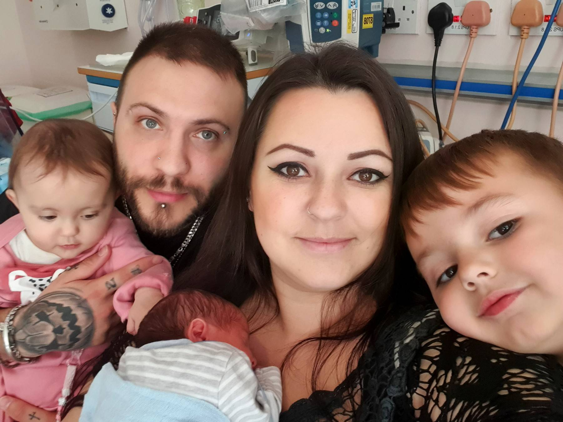 MUM WHO HAS TWO MIRACLE BABIES IN 12 MONTHS, AFTER 9 MISCARRIAGES, IS EXCITED TO CELEBRATE FAMILY CHRISTMAS AT HOME