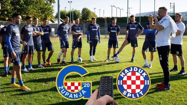 Gdje igra Hajduk? - Na Stadionu prve nogometne lopte! Evo gdje možete gledati 'bile' i Županjce