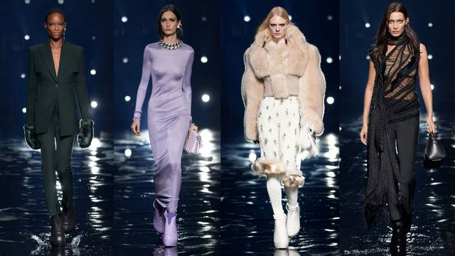 Givenchy predlaže gumenjače uz glamurozne kristalne haljine