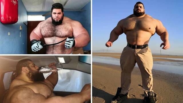 'Iranski Hulk' borit će se golim rukama: Potpisao je za BKFC!