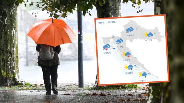 Za blagdane tmurno vrijeme: Hrvatsku će prekriti oblaci i kiša