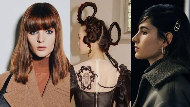 Rep, šiške i pletenice: Hit frizure s modnih revija za jesen i zimu