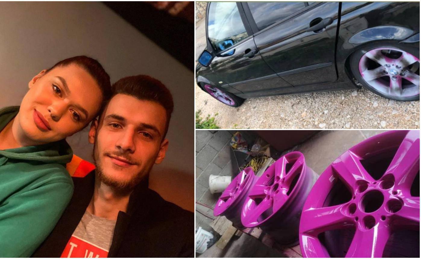 Imoćanima iz Superpara uništili roze felge na BMW-u: Zloća je to