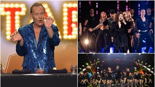 U finale showa ide gutač stvari, pjevačica i grupa od 30 stepera