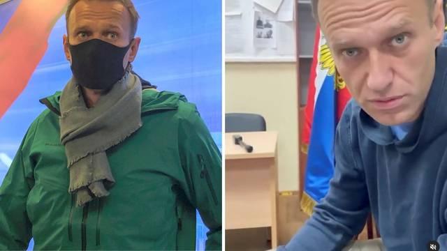 Tužitelji  traže 30 dana  pritvora za Navaljnog, on proziva Putina