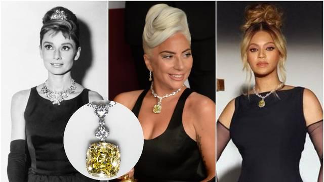 Nakon Audrey Hepburn i Lady GaGe, kultni Tiffany dijamant od 128 karata sada nosi Beyonce