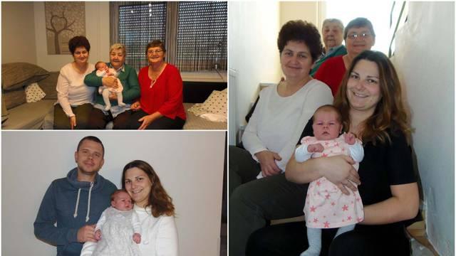 Pet generacija žena u obitelji: Različite smo, a spaja nas hobi. Obožavamo pripremati slastice