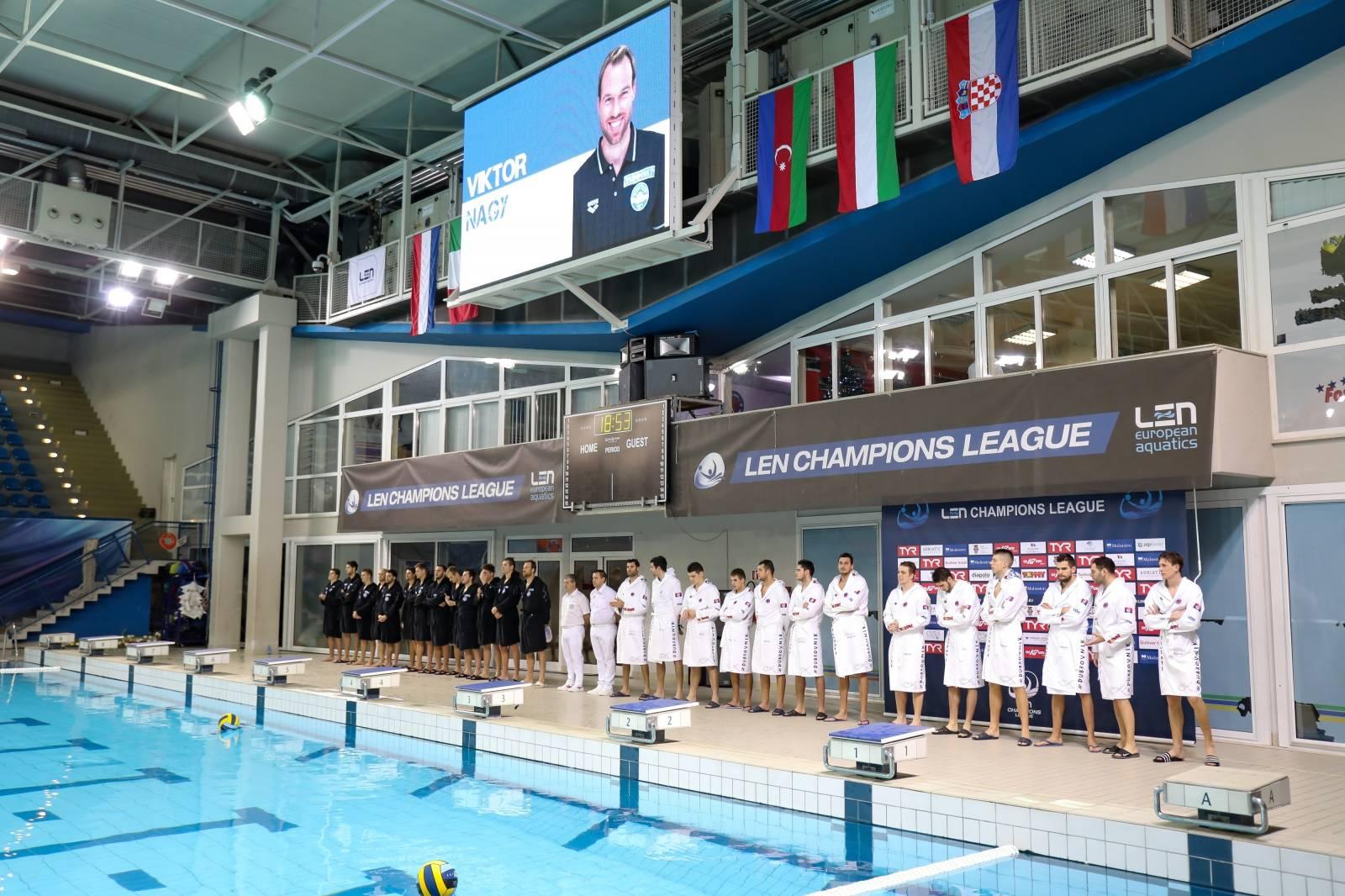 Jug svladao Szolnoki Dozsu rezultatom 14:11 u LEN Ligi prvaka