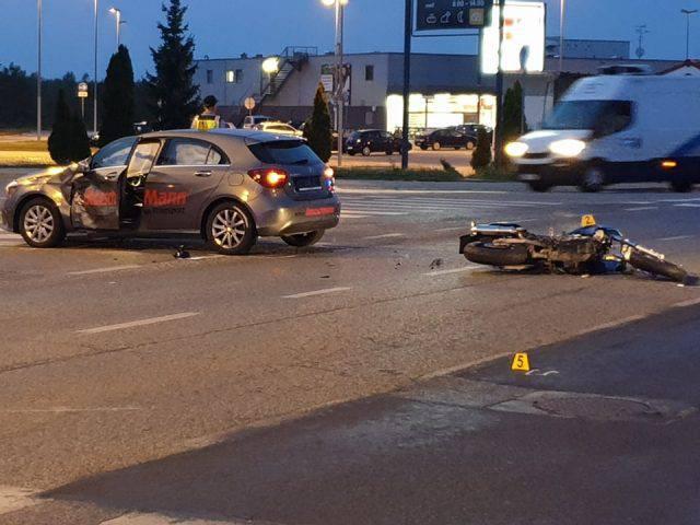 Koprivnica: Motociklist teško ozlijeđen u sudaru s autom