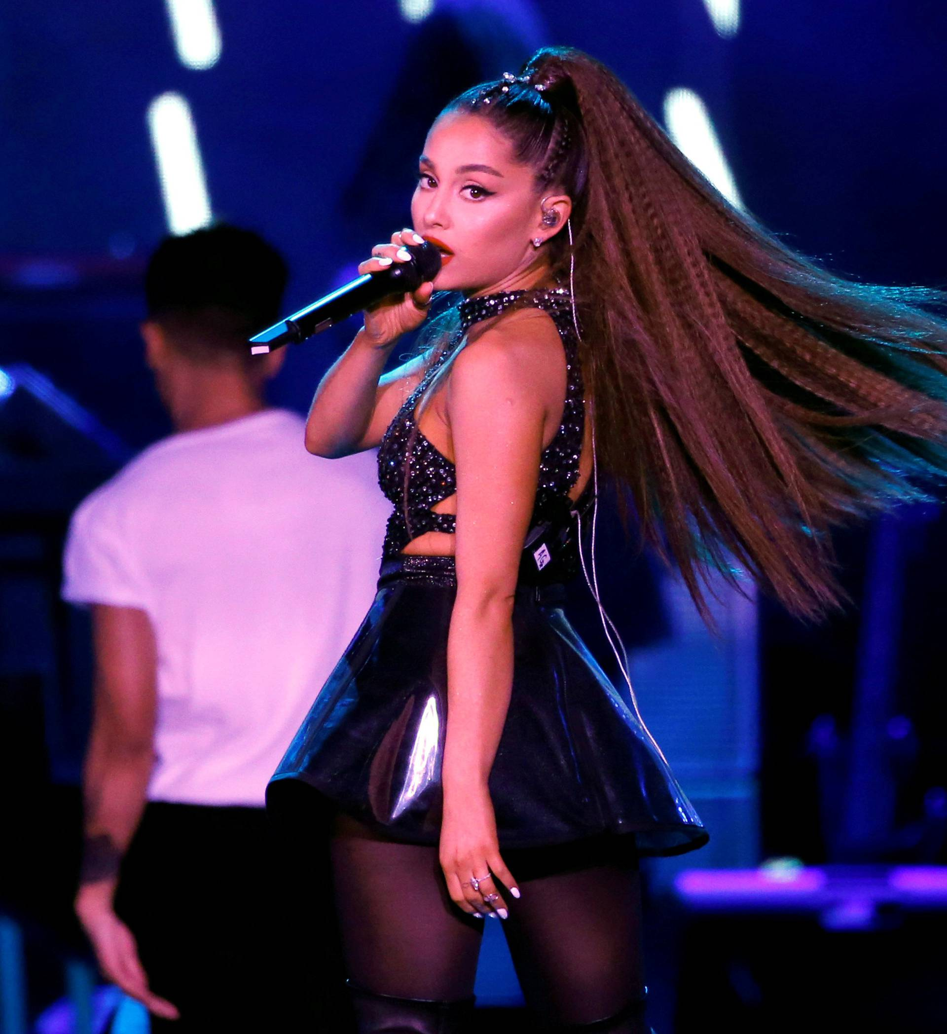 FILE PHOTO: Ariana Grande performs