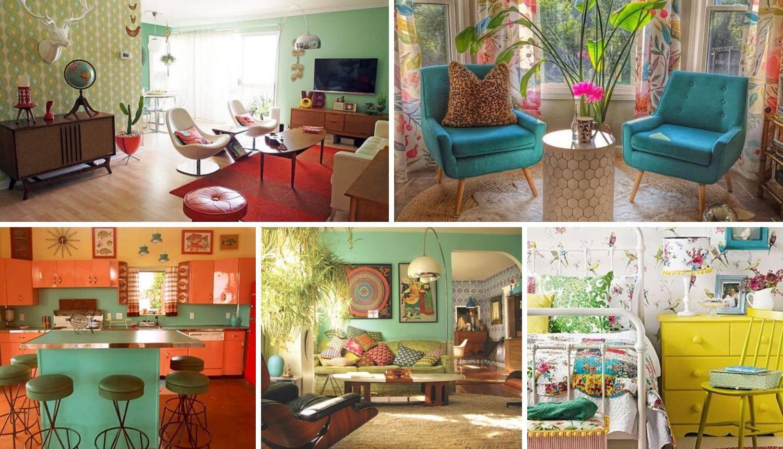 Uredite svoj dom u retro stilu: Top 20 ideja kako to napraviti