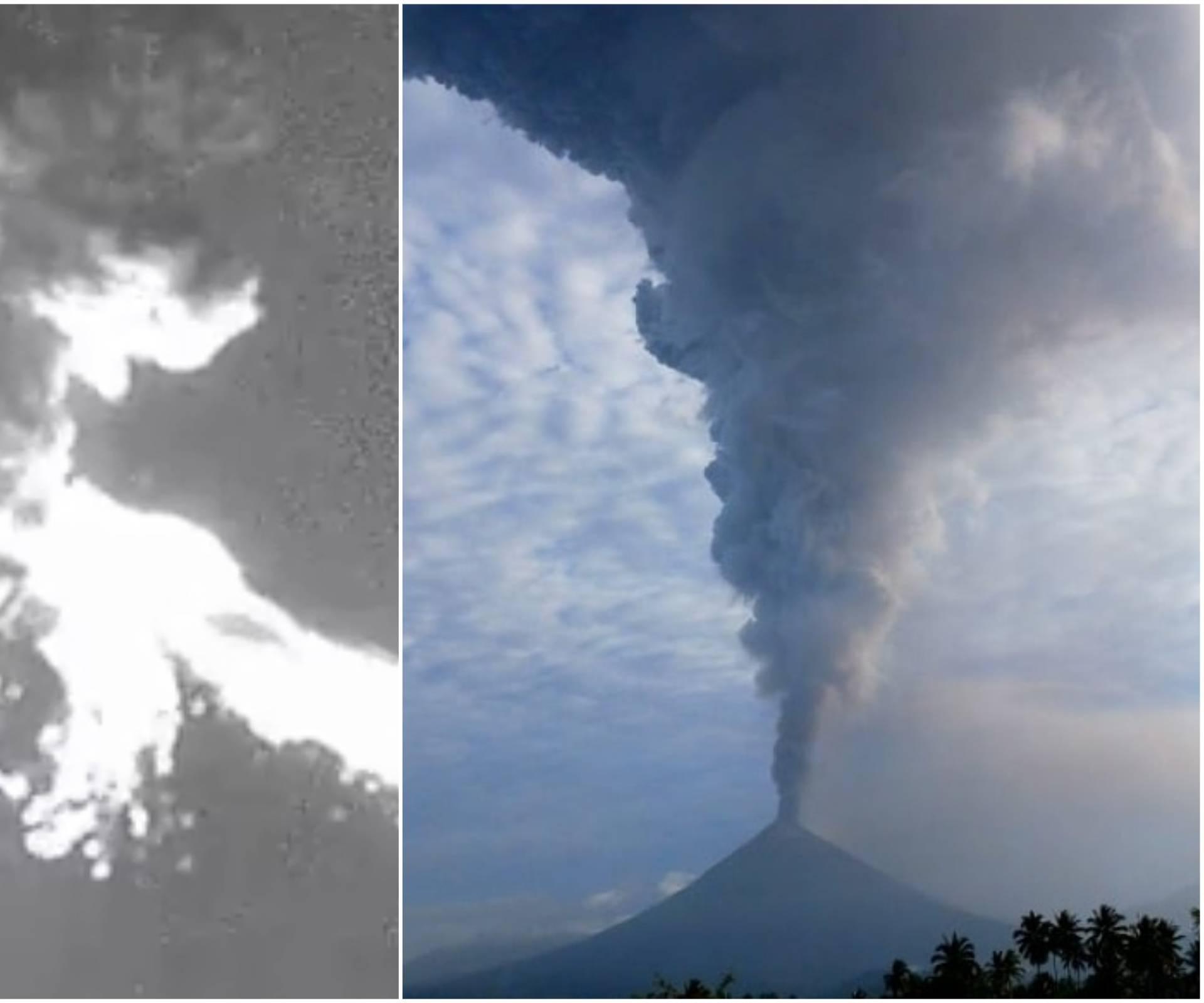 Eruptirali vulkani Popokatepetl i Soputan! Pepeo zacrnio nebo