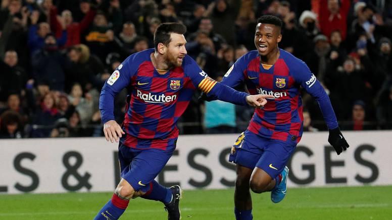 Messi spasio Setiena blamaže: Barcelona jedva s igračem više
