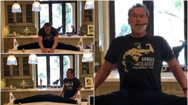 Arnold je radio špagu pa 'ostao bez nogu': 'Baš je ovo zabavno'