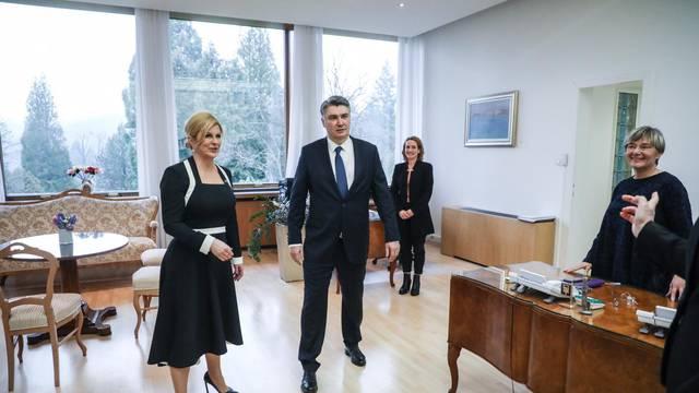 Milanović i Grabar Kitarović idu zajedno u SAD: 'Predsjedniku bi na ovome trebalo čestitati'