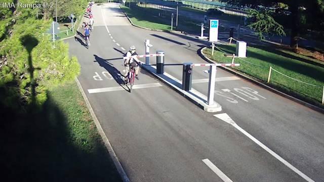 Ako ti se rampa nađe na putu dok voziš bicikl, zabij se u nju
