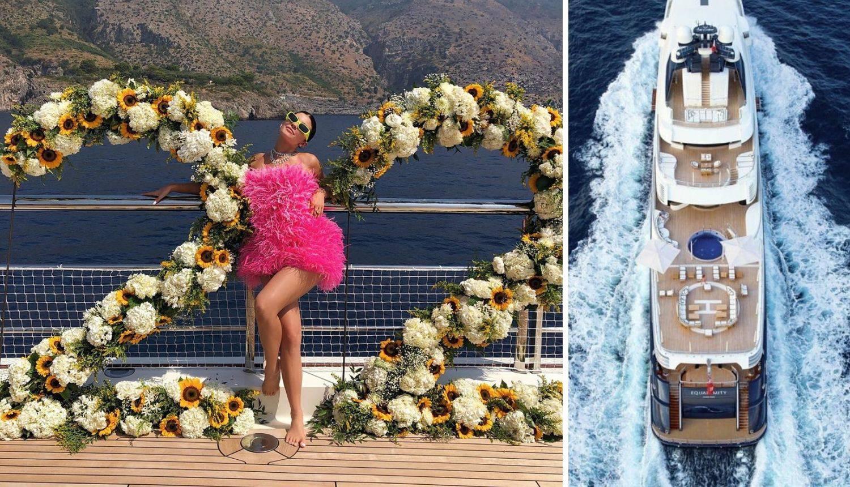 Kylie slavila na luksuznoj jahti: Spiskala milijune na zabavu...