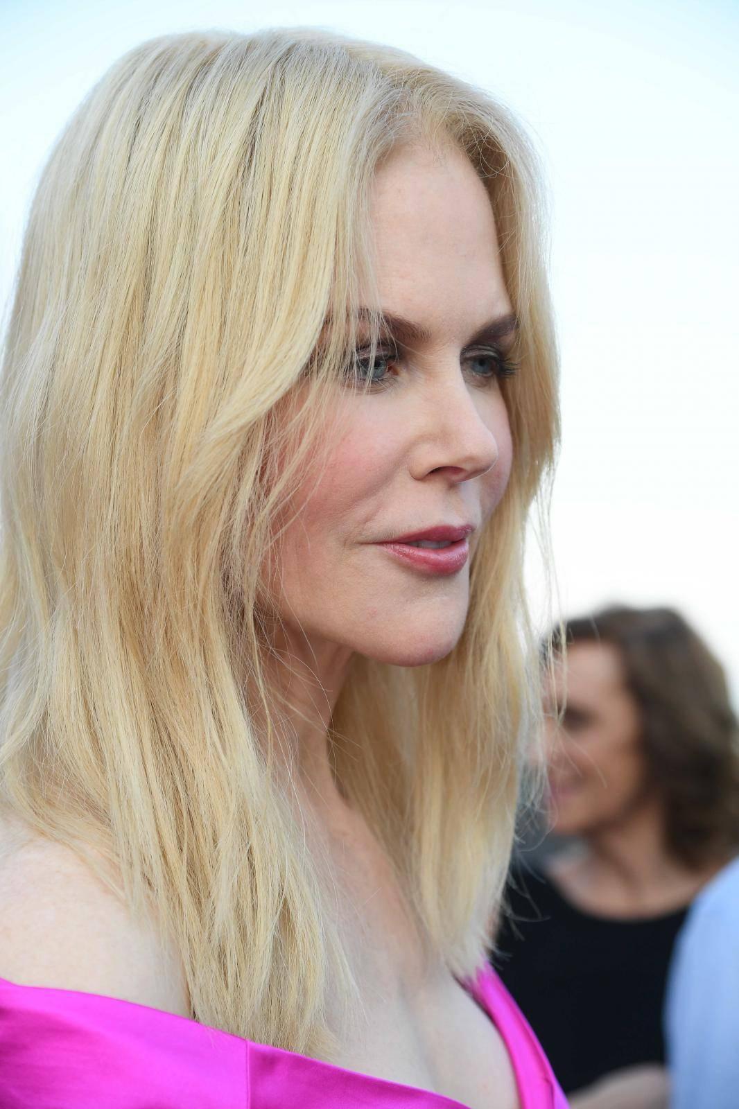 Taormina: 65th Taormina Film fest. Nicole Kidman red carpet